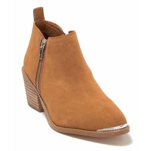 DOLCE VITA Suede Western Booties